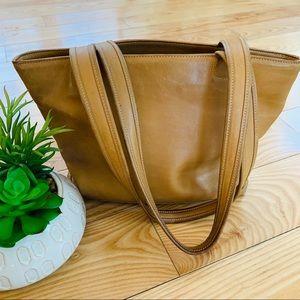 Coach | Vintage Small Tote Bag | Camel Color